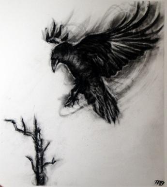 Decending Crow II
